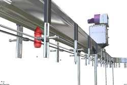 Air Conveyor, Bottling line Air Pet Bottles Conveyors