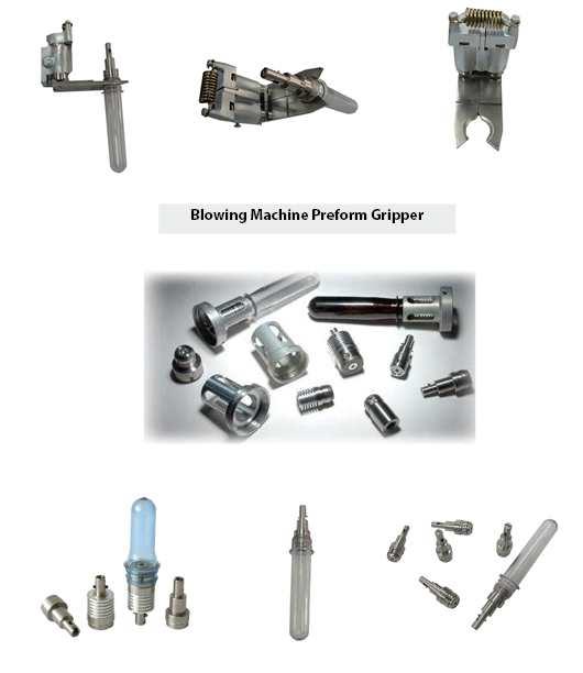 Blowing Machine Preform Gripper, Blowing Preform Gripper, Bottle Blowing Preform Gripper