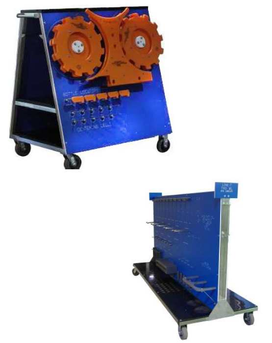 filler Star Wheels Storage Solutions, filler filler change part trolley