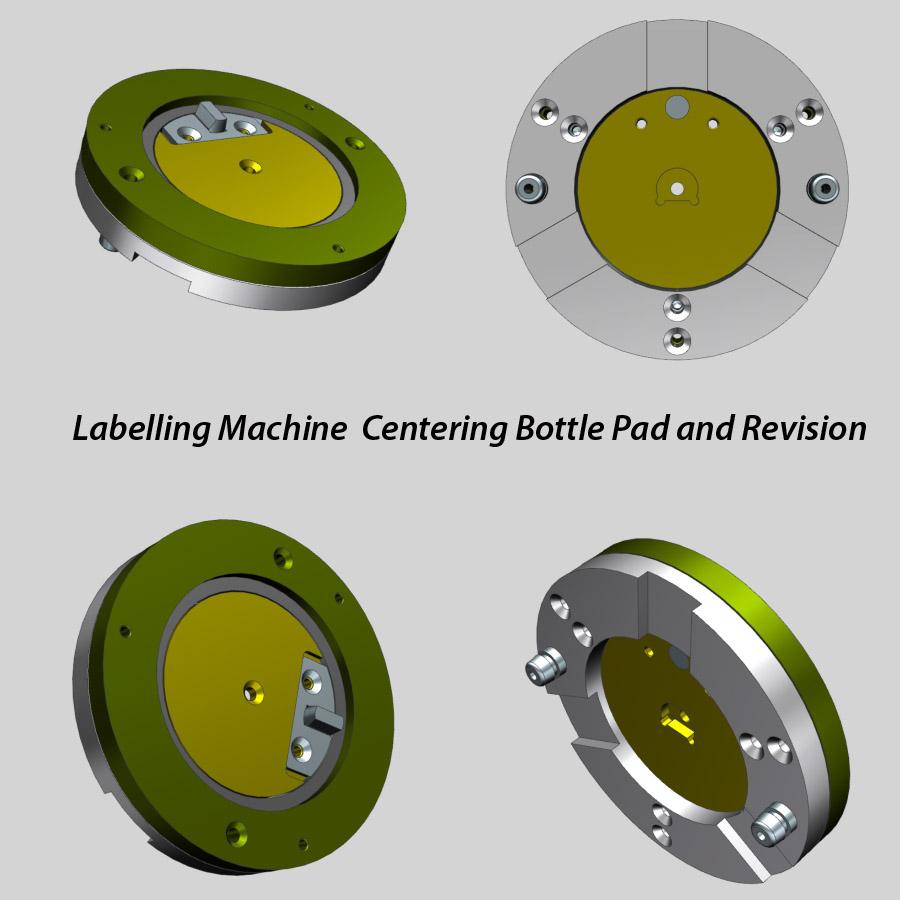 Labelling Machine Bottle Pad, ottle Labeller insert plate, Bottle Labeler support plate, Bottle Labeller Plate