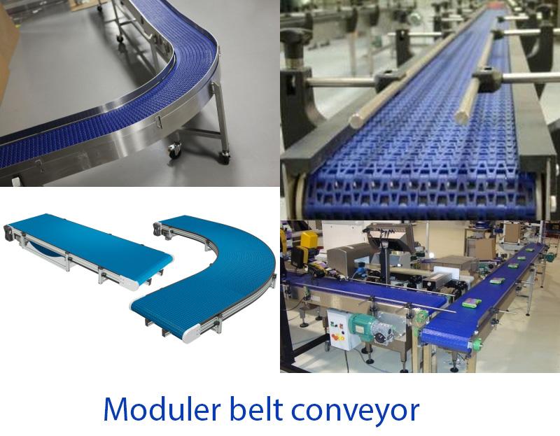 Modular Belt Conveyor for Bottling Lines