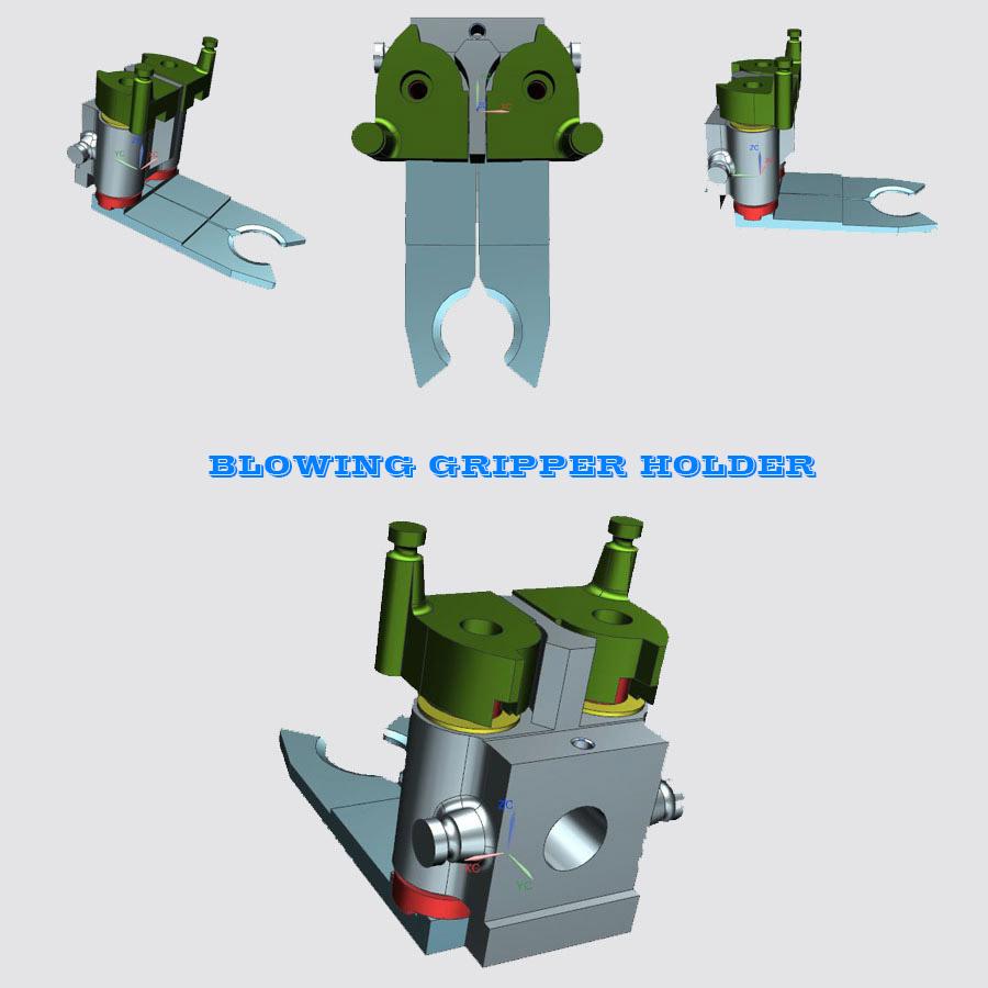 Blowing Machine Preform Pet Gripper Holder, Bottle Blowing machine preform gripper, Bottle Blowing machine preform holder