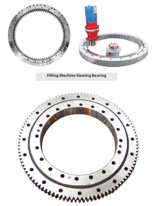 Filling Machine Slewing Bearing, Bottling Slewing Bearing, Rinser Slewing Bearing