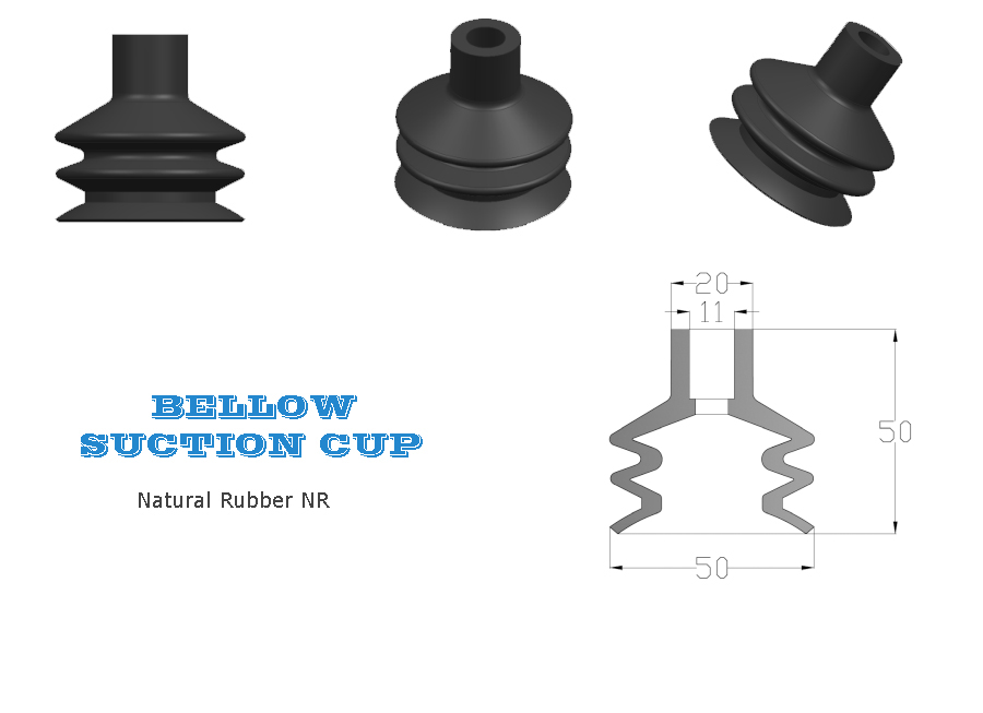 Bottling Bellow Suction Cup, Bellows Suction Cup, Bottling Line Bellow Suction Cup